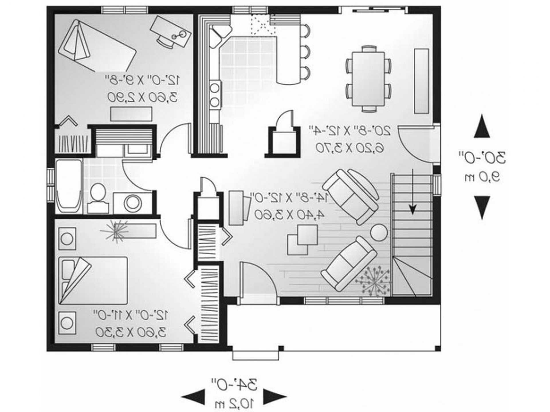 Guest House Plans Free Guest House Plans House Plans Bungalow House Plans