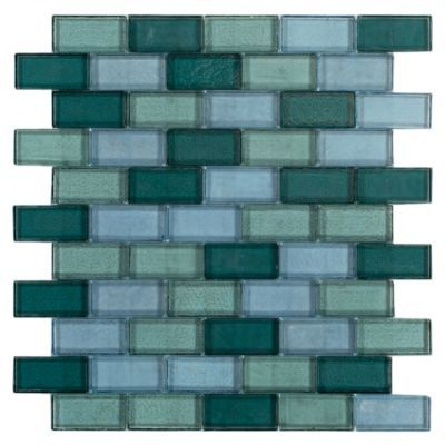 Floor And Decor Pool Tile Tangaroa Glass Pool Tile Mosaic  12Inx 10In Floor And Decor