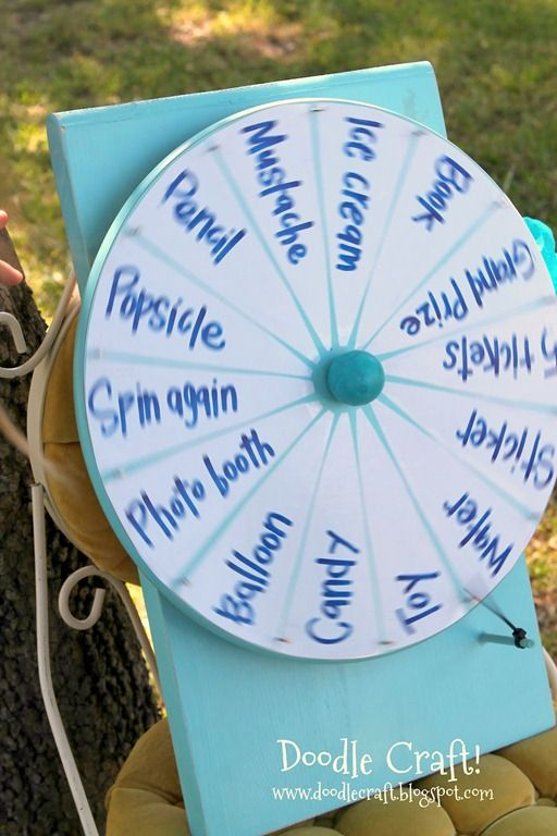 Diy Spinner Prize Wheel All Time Favorite Crafts Diy Prize