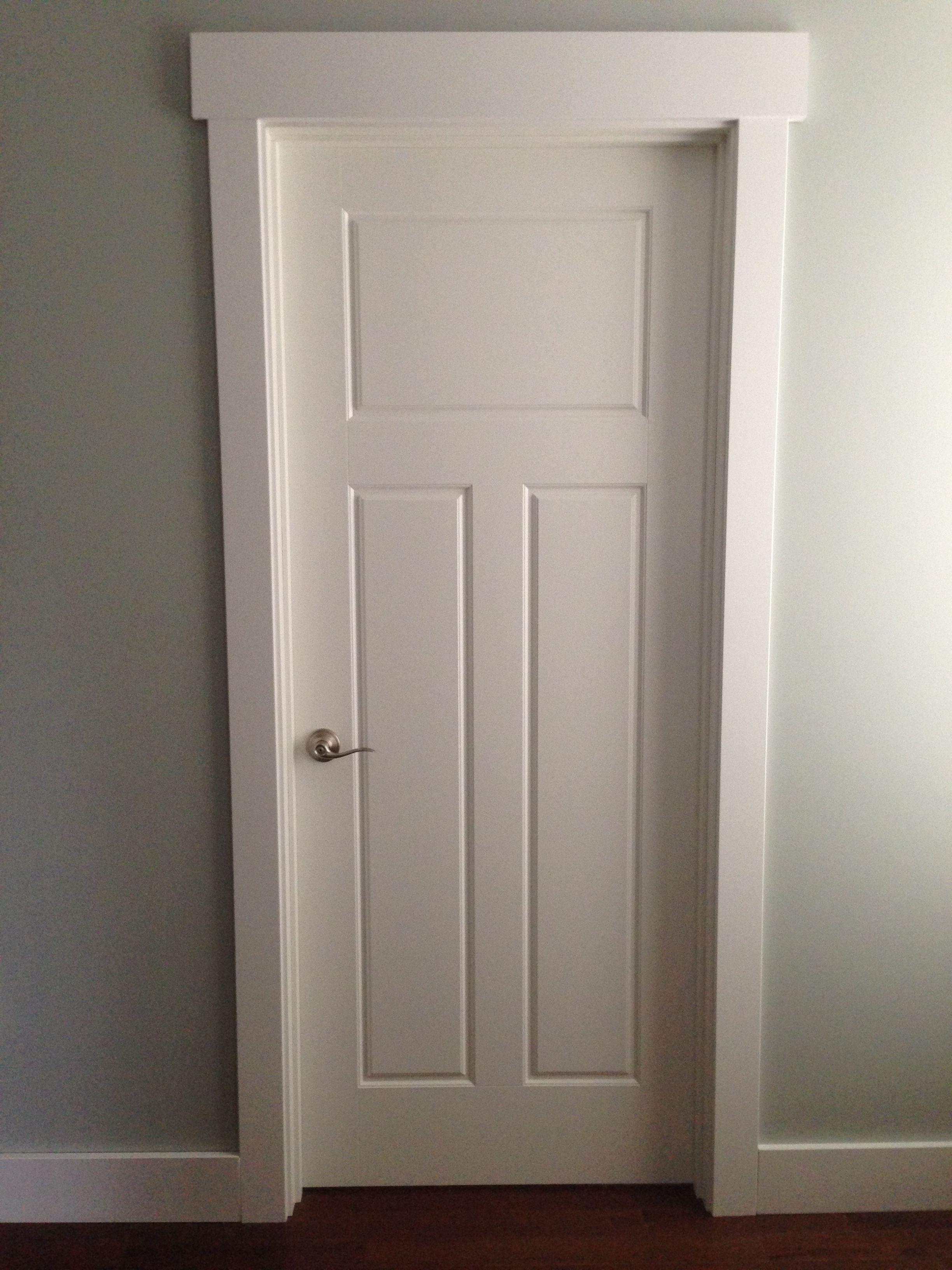 Craftsman style door casing.   Hardwood Mouldings in 2018 ...