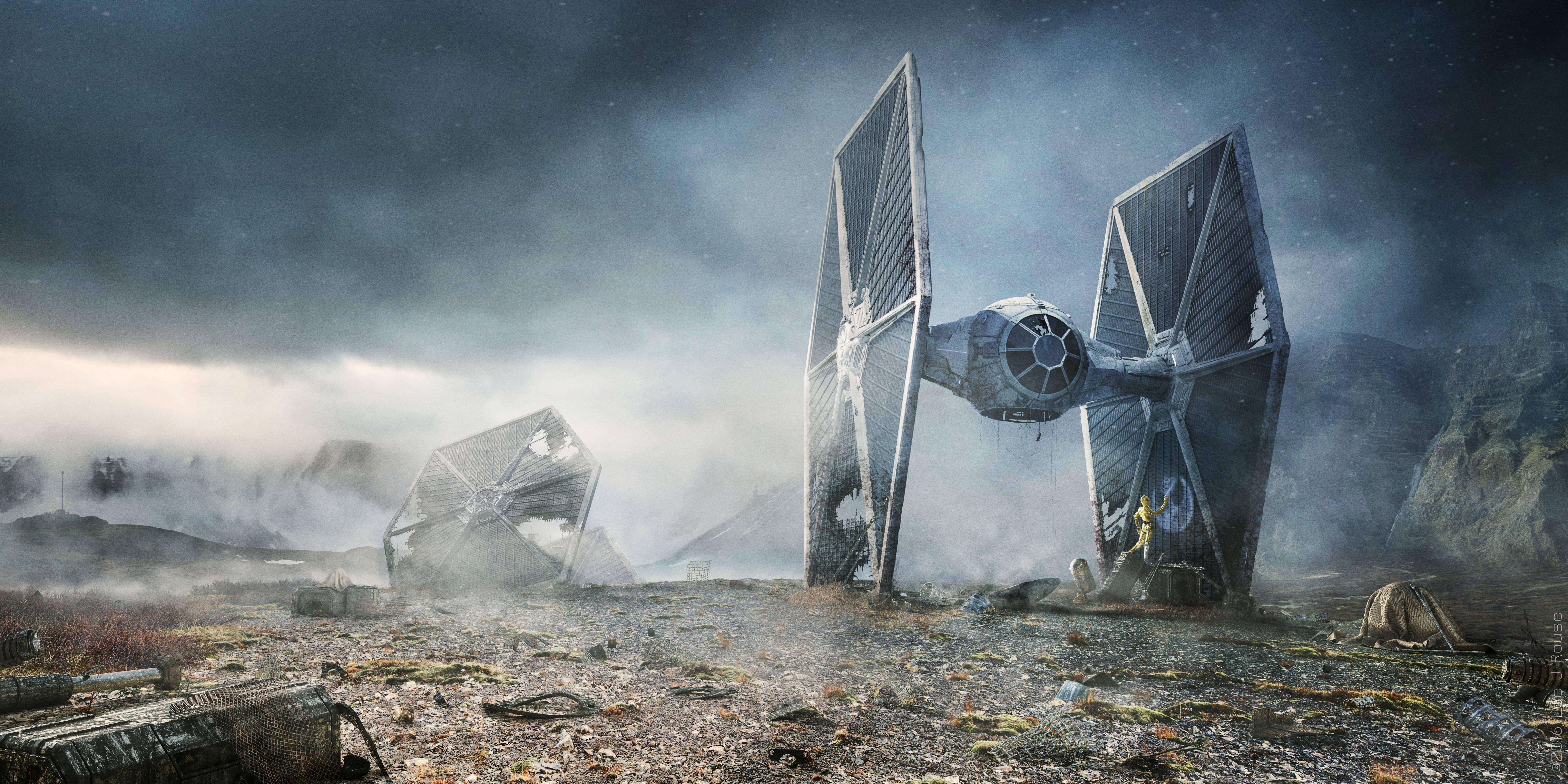 Pin By Estefan Richter On Film Star Wars Wallpaper Tie Fighter Wallpaper Star Wars Background