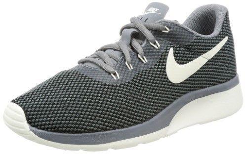 Nike Women's Tanjun Racer Cool/Grey/Sail/Black Running Shoe 6.5 Women US