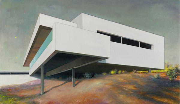 Modern Architecture Artists painting modernism: architecture + art | arkkitehtuuri,taide ja blogi