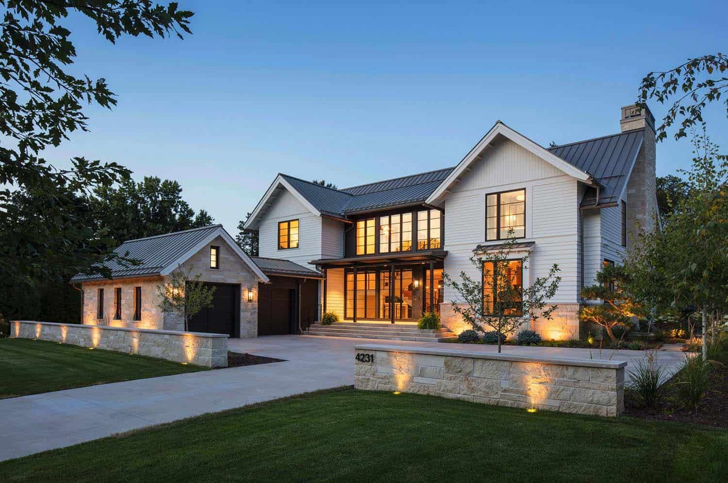 Fabulous modern farmhouse with delightful details