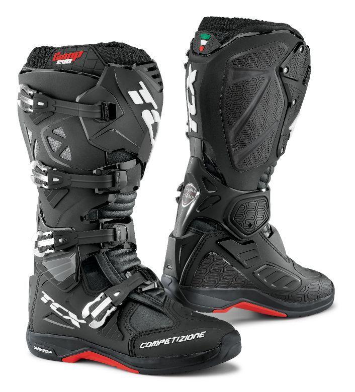 Photo of TCX Comp EVO Michelin Boots, BLACK,BLUE,HI-VIS YELLOW,RED,WHITE