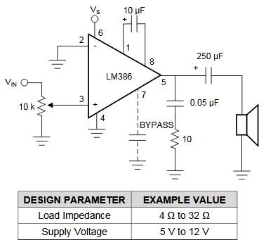 Simple Microphone To Speaker Amplifier Circuit Diagram Audio