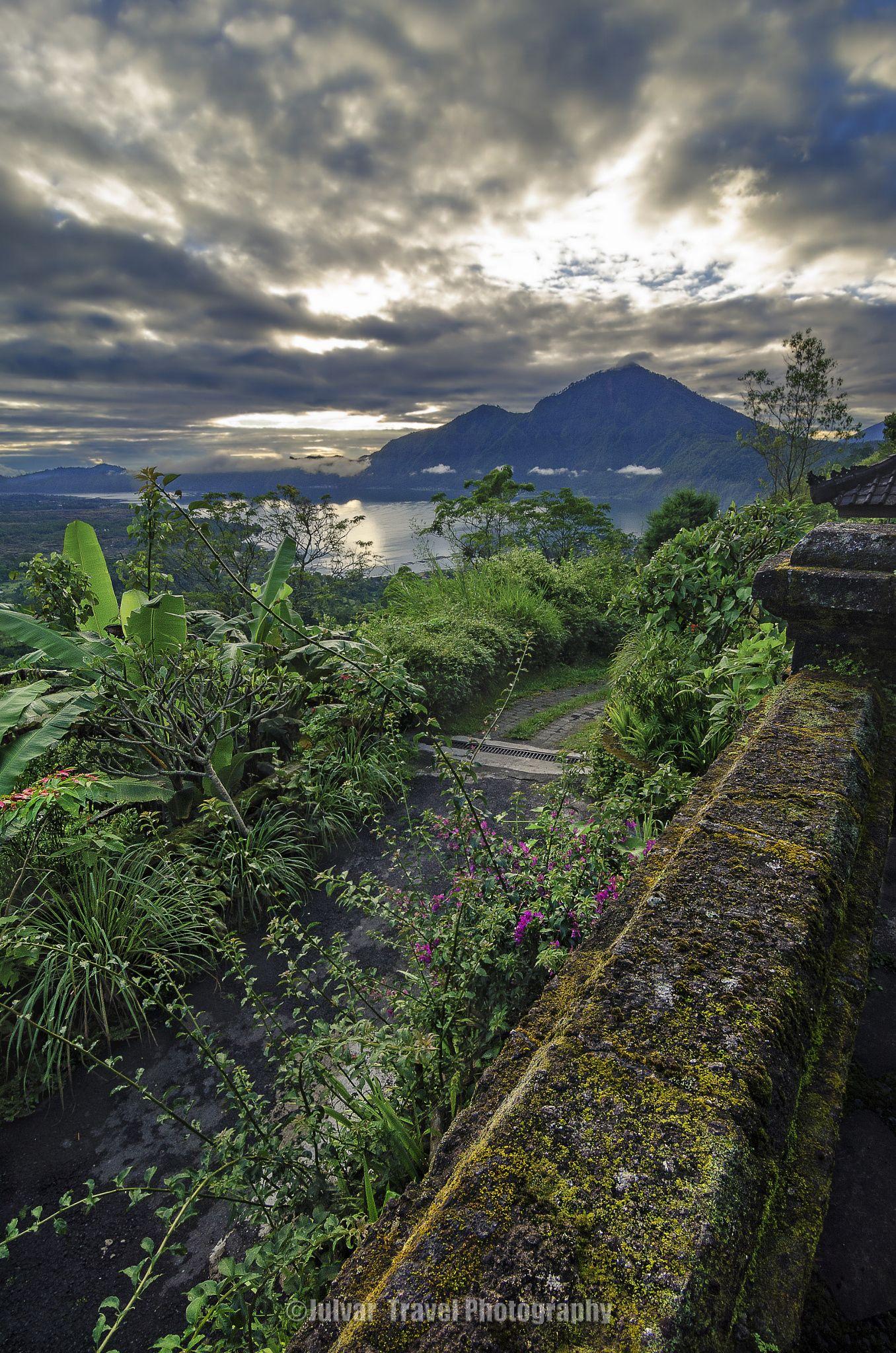 Sunrise over Kintamani Bali, Indonesia by Julvar
