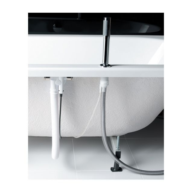 Crosswater Follow Bath Pull Out Hand Shower Image Balterley Enclosure Package With Seat