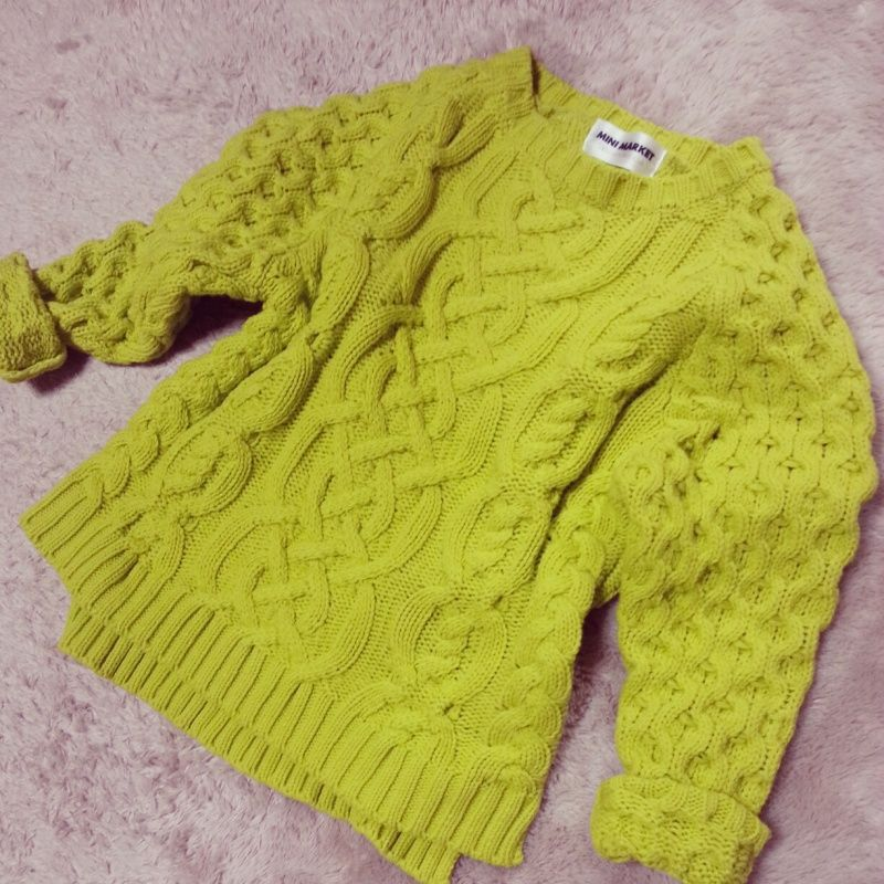 Neon color knitwear! i want this!