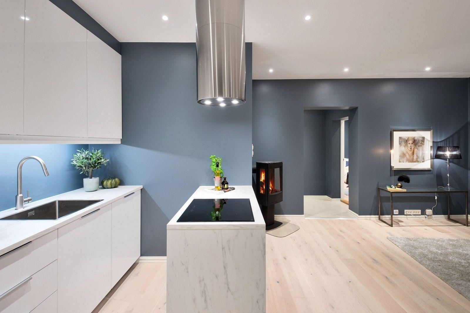 FINN – Enerhaugen - Rålekker 4-roms med vedovn, åpen kjøkkenløsning ...
