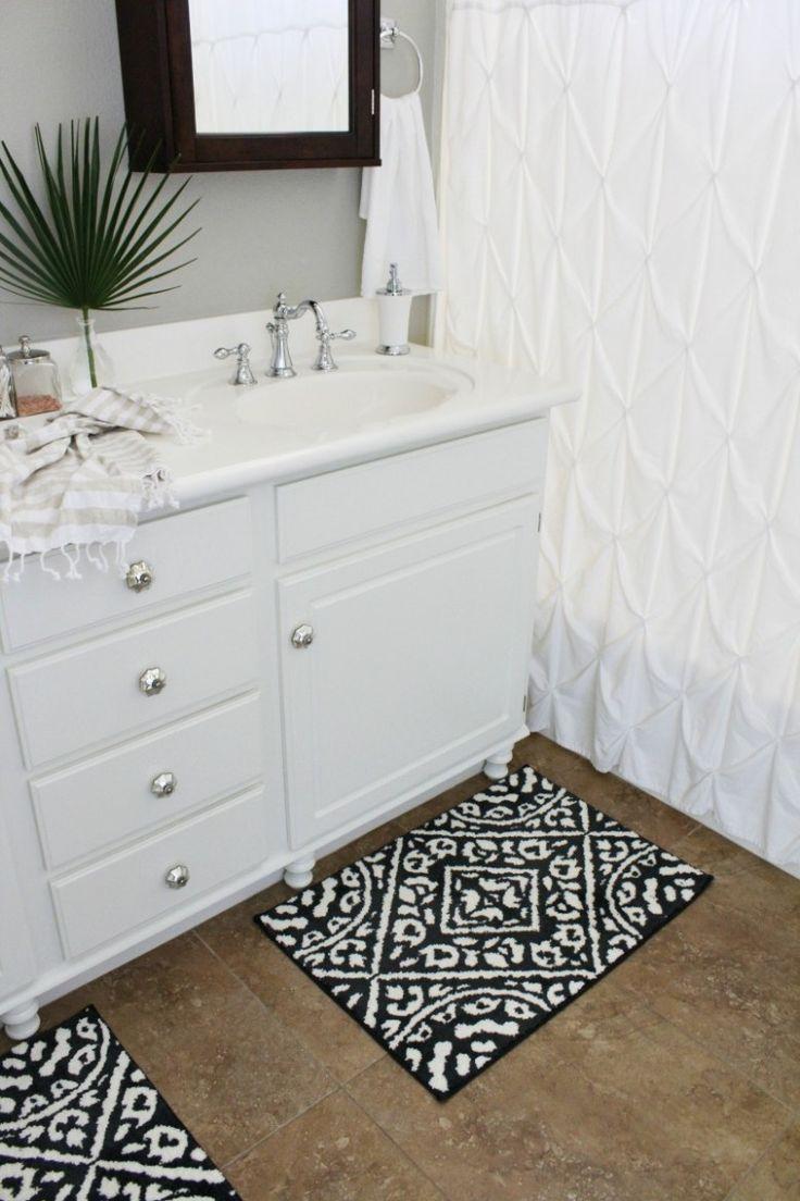 Builder S Grade Bathroom Makeover On A Budget Bathroom Vanity Designs Cheap Bathroom Vanities Cleaning Bathroom Tiles