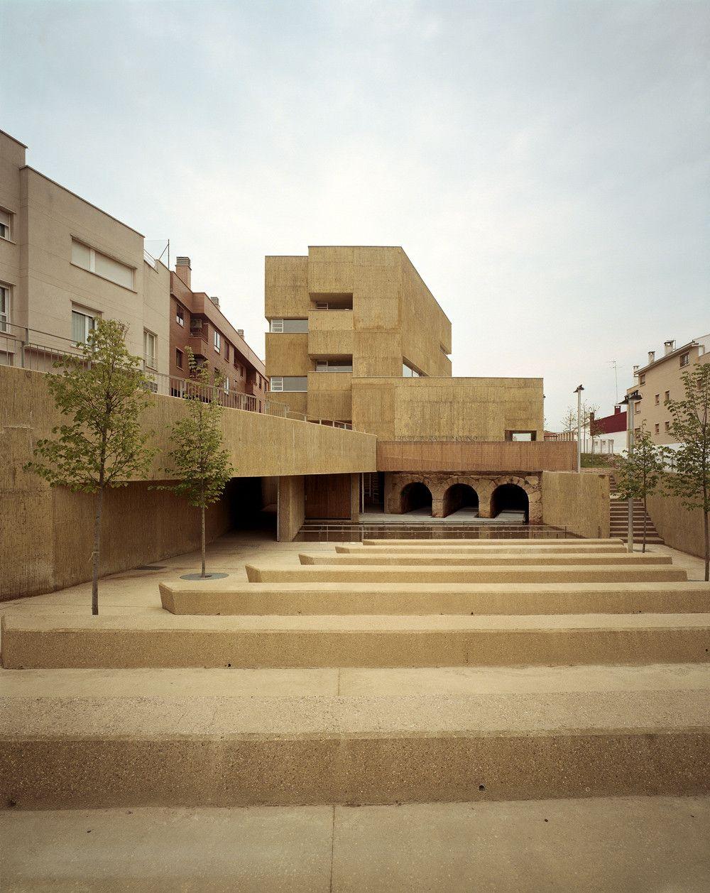El Molino Cultural Center Alday Jover Arquitectura Y Paisaje  # Muebles Jover Teruel