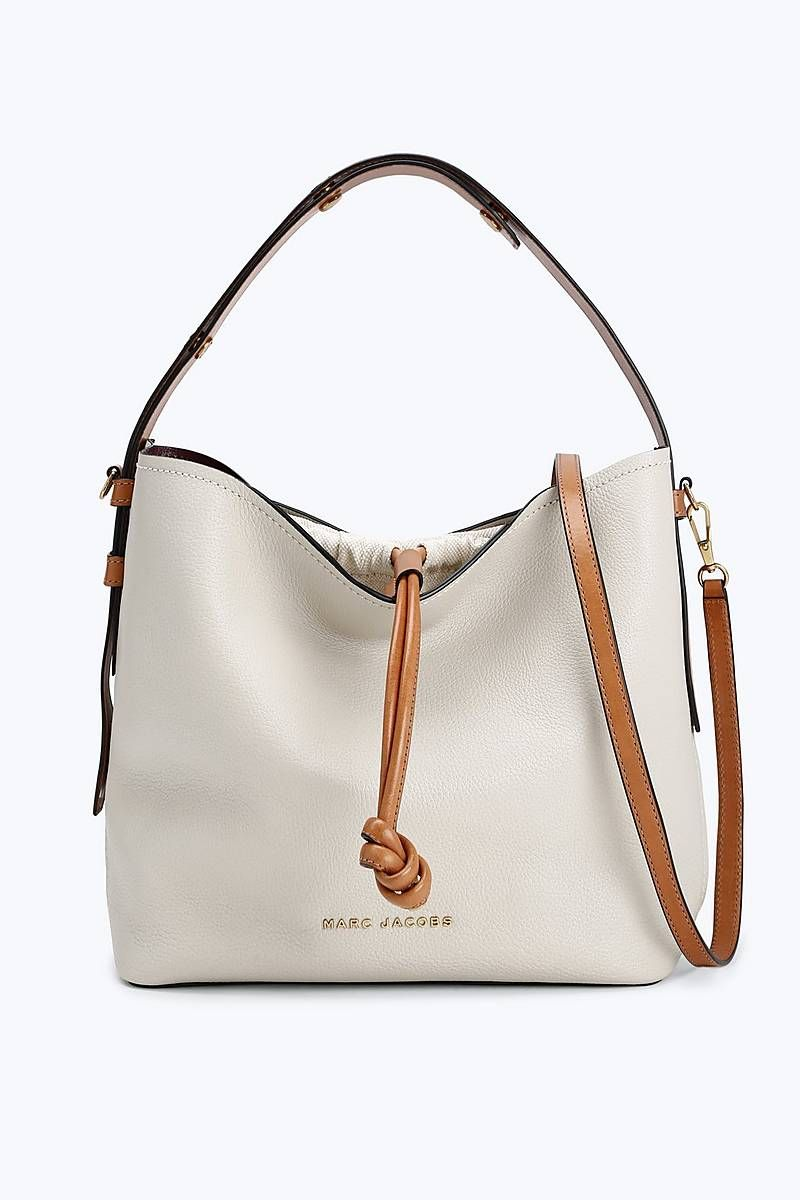 6057535cd25 Marc Jacobs Road Hobo Bag in Antique White | Marc Jacobs Bags ...