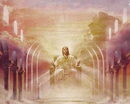 Jesus sitting on his throne in heaven amazing pictures of jesus jesus sitting on his throne in heaven altavistaventures