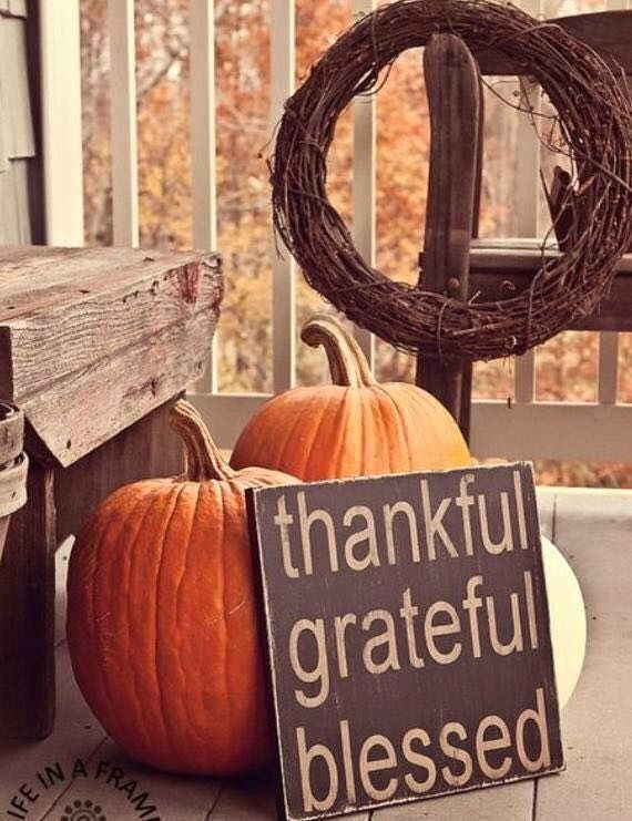 Thanksgiving decor & Porch idea