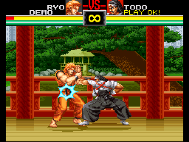 Neo Geo - Art of Fighting