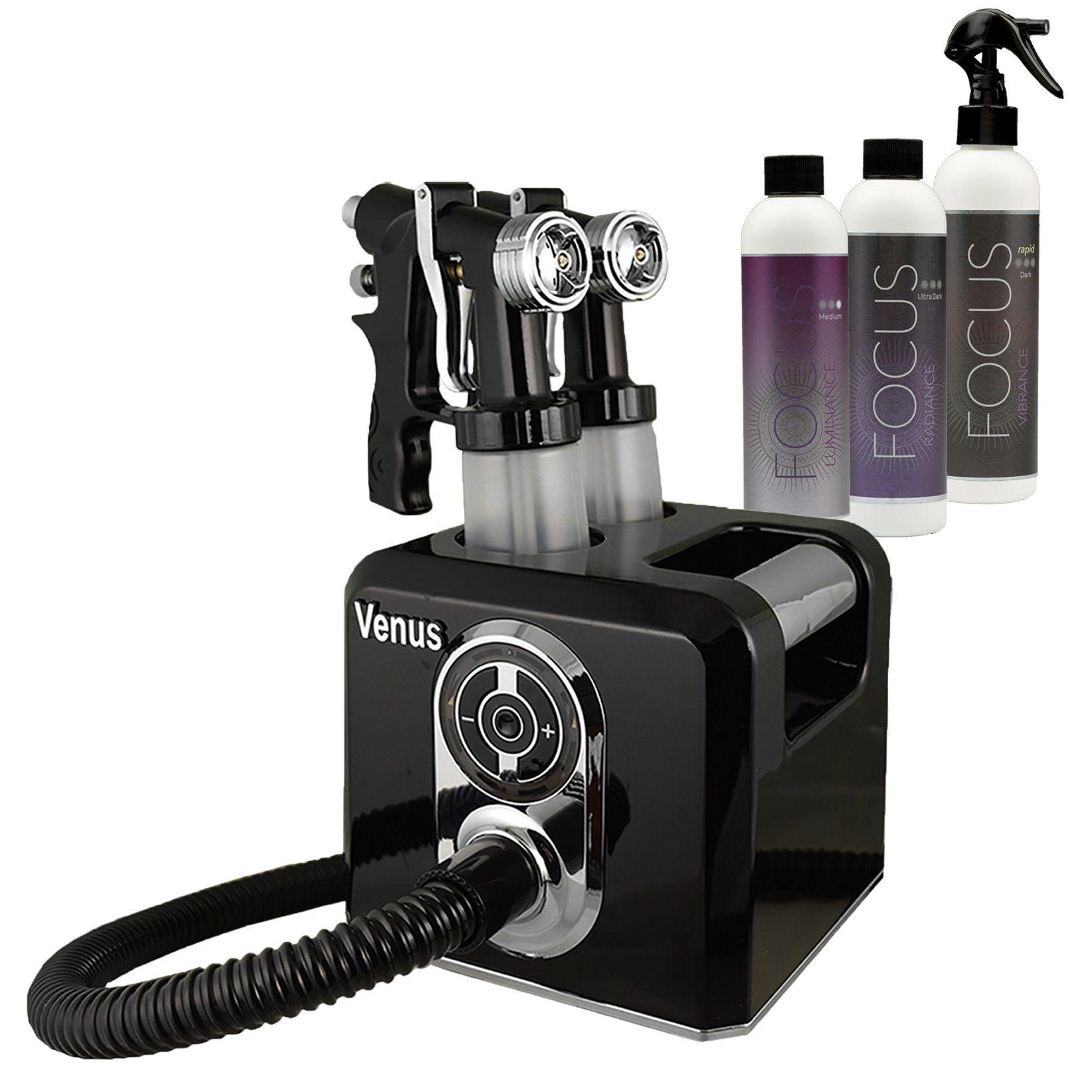 Venus Spray Tanning Machine Kit with Sunless Airbrush