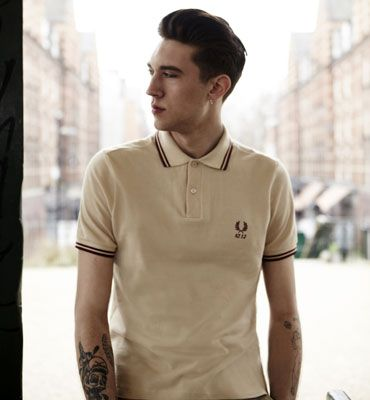 original 1952 Fred Perry polo shirt has been reintroduced ...