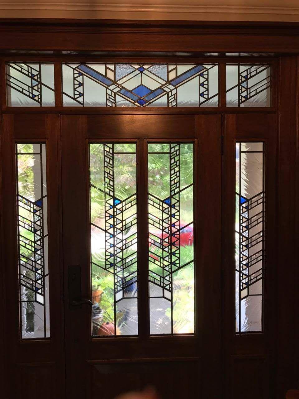Image Result For Frank Lloyd Glass Transom Frank Lloyd Wright Stained Glass Stained Glass Door Stained Glass