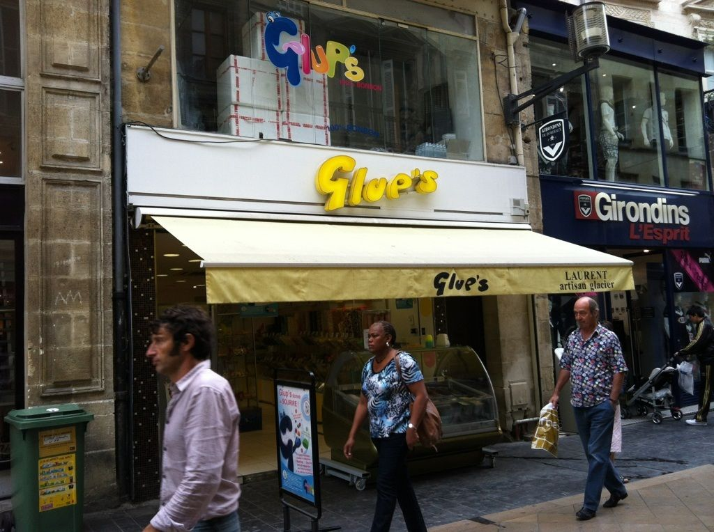 #Glup's #candy store in Bordeaux, France. Love the name!