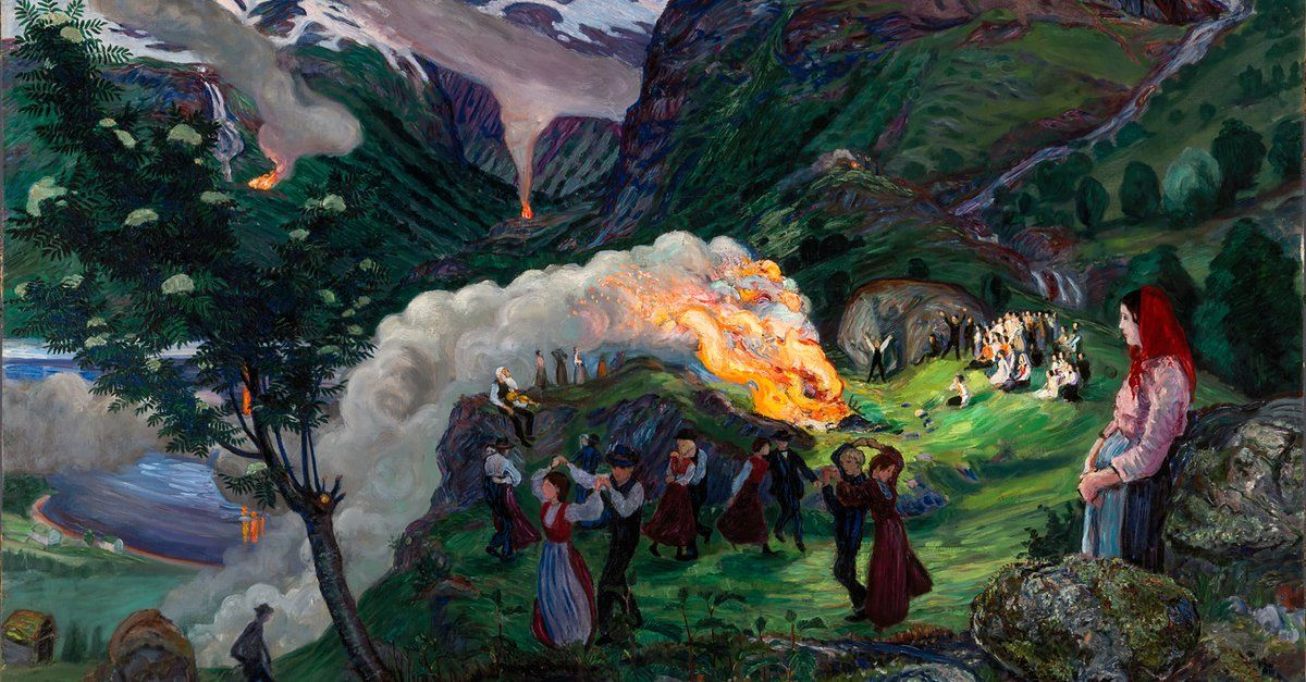 Norwegian painter Nikolai Astrup emerges from obscurity https://t.co/Re4MeGQe3i (via @zedign)