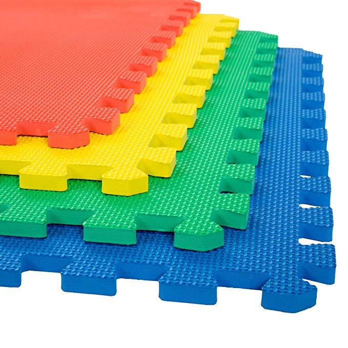Mat Floor Tiles Interlocking Eva Foam