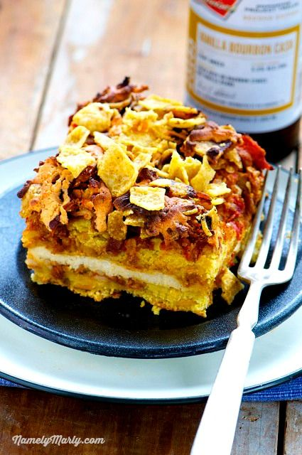 Busy Days Means Quick And Easy Meals Including This Vegan Taco Layered Casserole