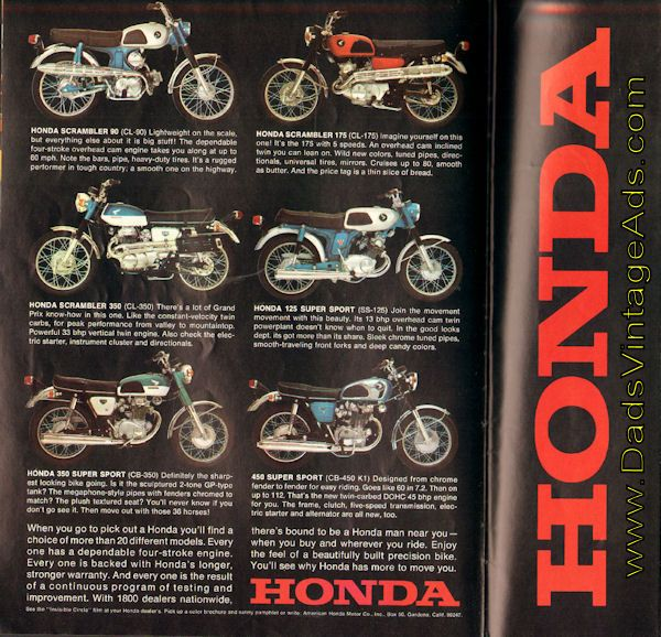 1969 Honda Motosport 90 – Lightweight on the scale, but everything else about it is big stuff!