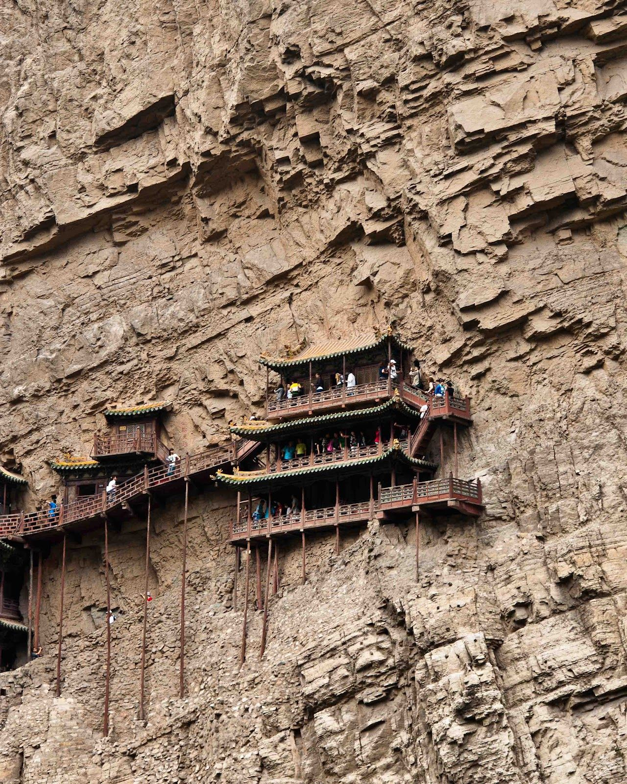 Places Of Worship For Taoism: Life On Nanchang Lu: The Hanging Temple Of Jingxia Gorge