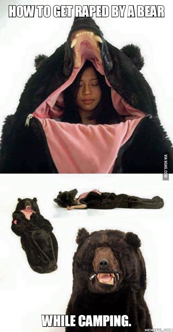 Bear bag? - 9GAG