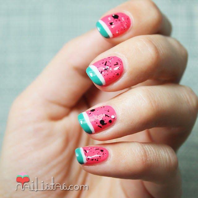 DIY Cupcake Holders   Uñas fáciles, Decoración de uñas y Sandía