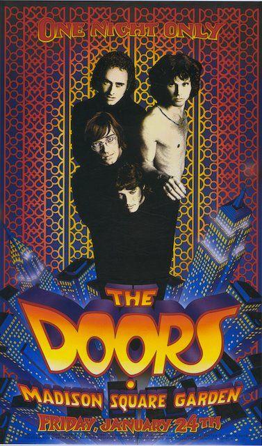 8x10 Color Photo Doors 1968 Concert Poster
