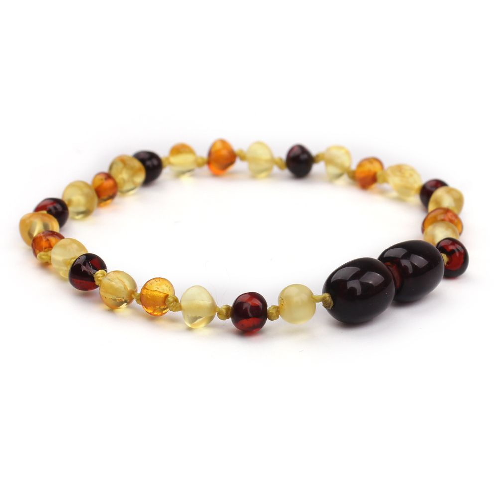 Dcee Natural Ambar Stones Certificate Baltic Teething Genuine Amber Bracelet For Baby Free Shipping