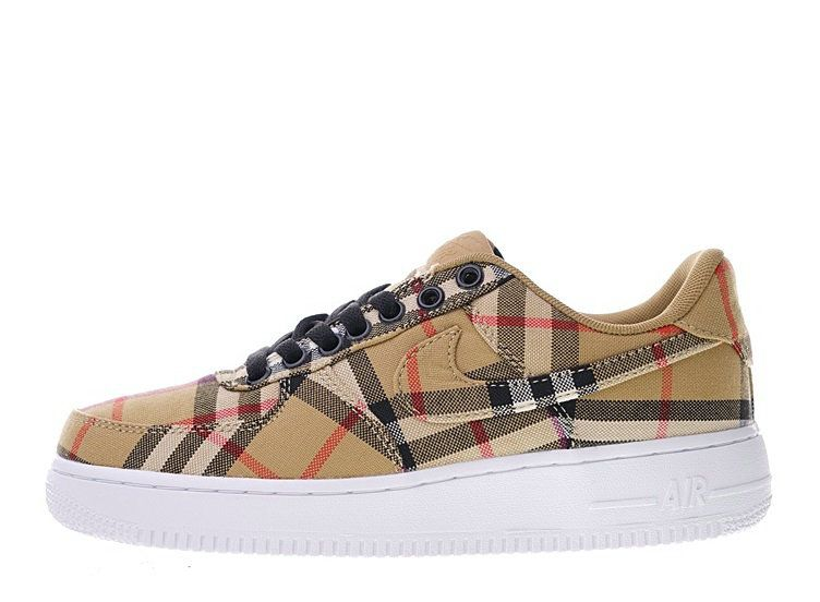 Burberry X Nike Air Force 1 Low Sneakers | Nike air force