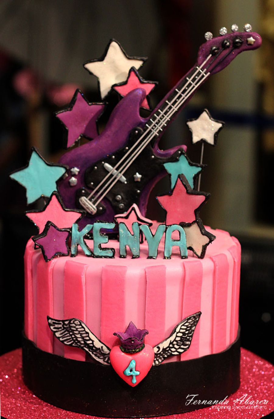 Fine Rock Star Birthday Cake Rock Star Cakes Rock Star Birthday Funny Birthday Cards Online Kookostrdamsfinfo