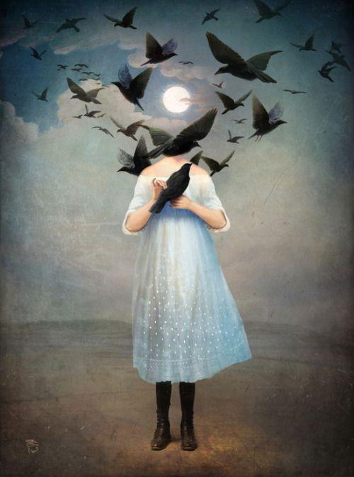 BijouxNoir - artagainstsociety: Moonlight by Christian Schloe