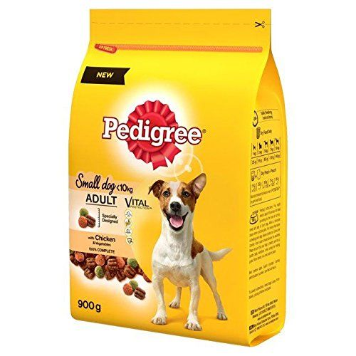Pedigree Small Dog Complete Dry Chicken 900g For More