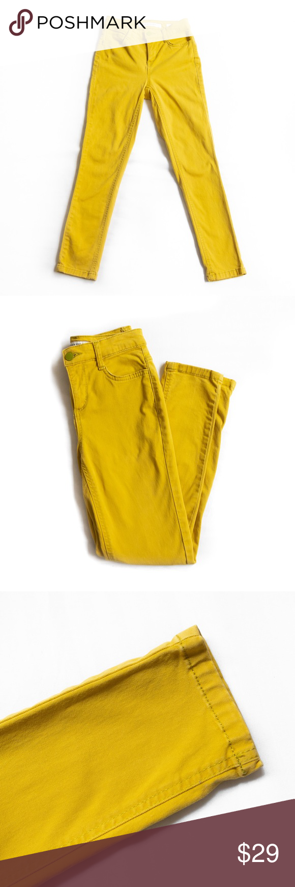 Jones New York Yellow Green Soho Ankle Skinny Jean Jones New York Skinny Jeans Clothes Design