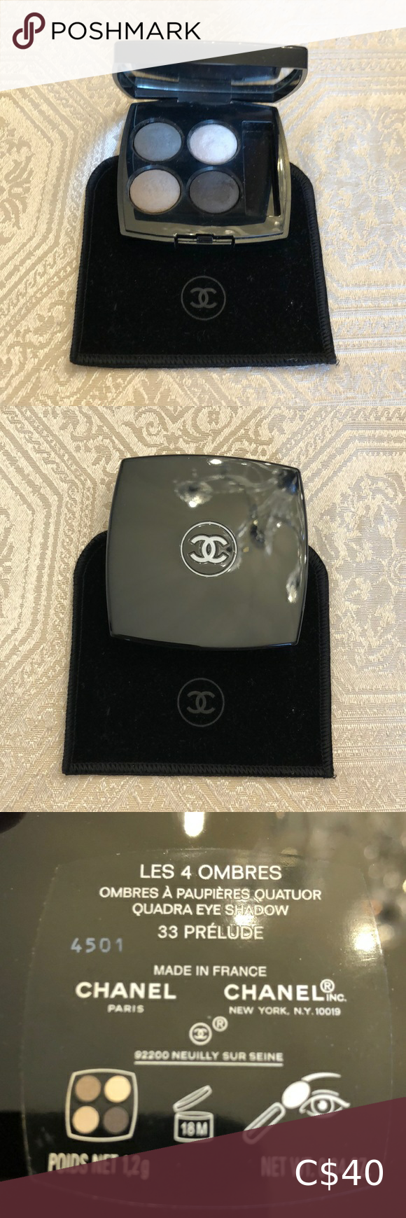 Chanel eyeshadow gift with purchase in 2020 Chanel