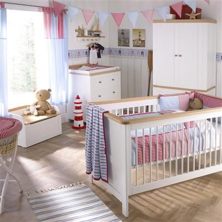 Izziwotnot Hemingway Two Roomset: Cotbed, Chest of Drawers & Wardrobe  ACHICA £865.00 / RRP £1,290.00  Awwwww this is cute too! - More forward thinking!