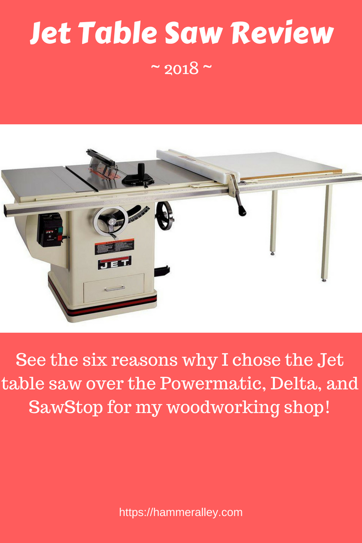 6 Reasons Why I Bought A Jet Table Saw Review 2019 With Images Antique Woodworking Tools Woodworking Tool Cabinet
