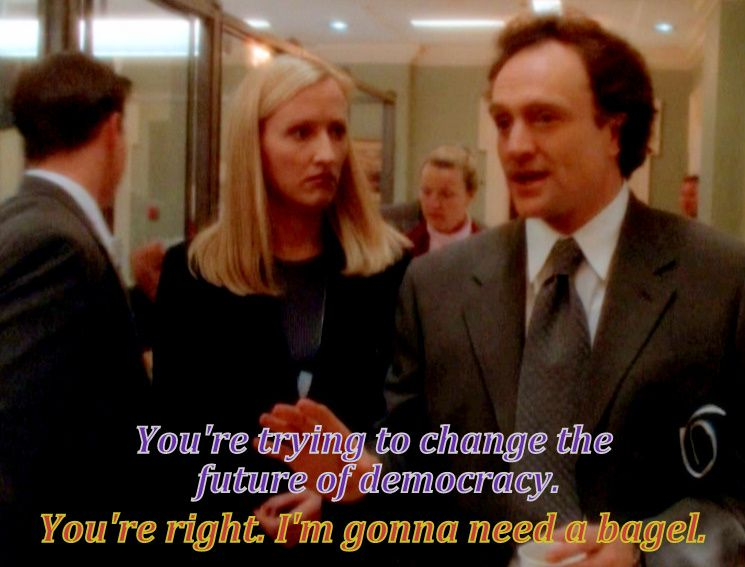 Josh Lyman Quotes: Let Bartlet Be Bartlet 'The West Wing'