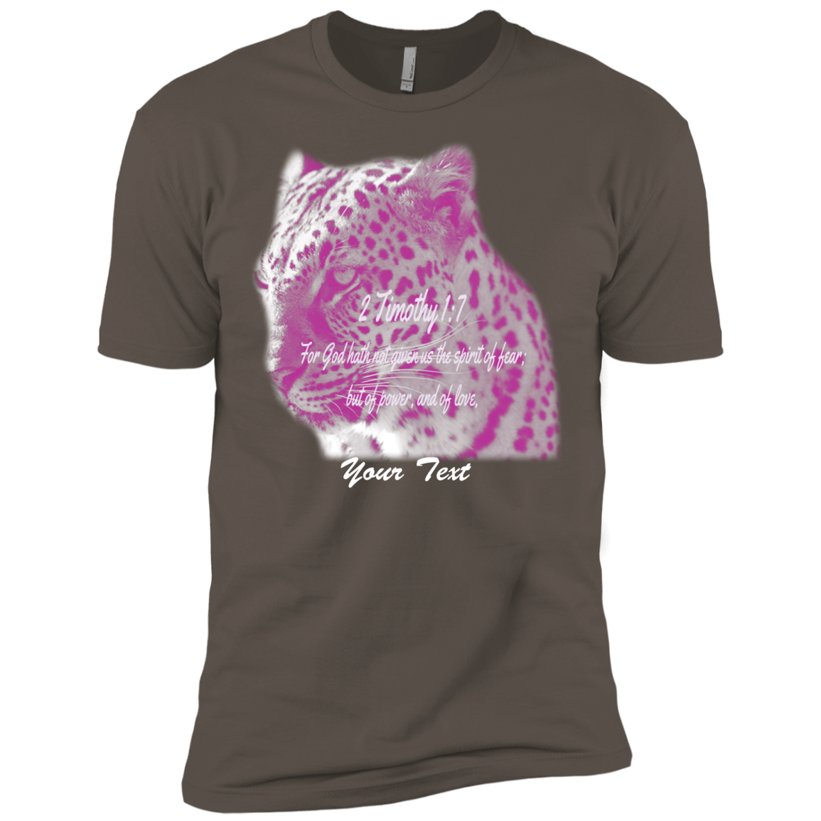 Hoping this new Jade Leopard Bibl... inspires you. Check it out! http://catrescue.myshopify.com/products/jade-leopard-bible-verse-2-timothy-1-7-next-level-premium-short-sleeve-tee?utm_campaign=social_autopilot&utm_source=pin&utm_medium=pin