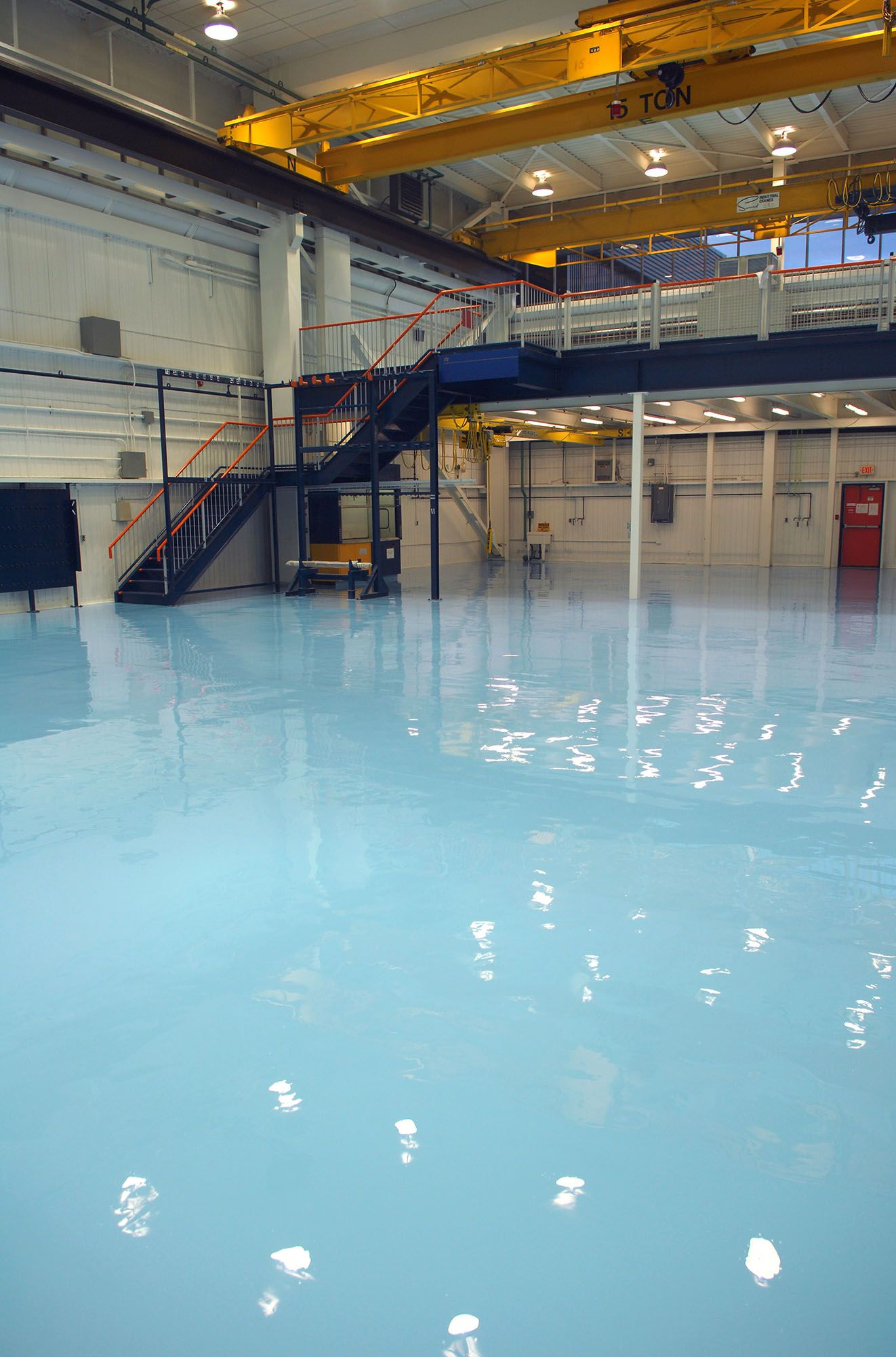 Painting And Epoxy Coat For Clean Room Of Atomic Energy