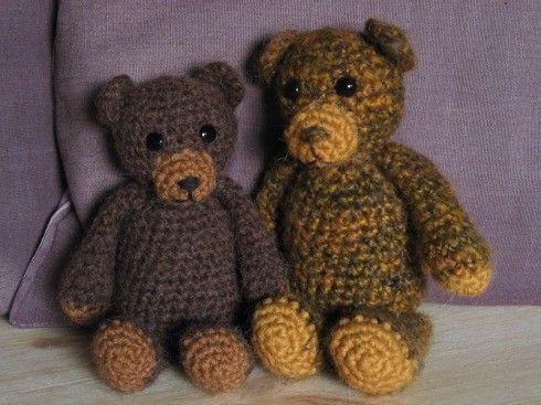 Bear Free Crochet Pattern Knit Crochet Sew Pinterest