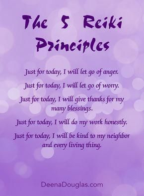 reiki attunement  learn reiki reiki principles reiki