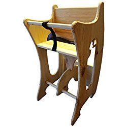 Combination High Chair Rocking Horse Desk Plans
