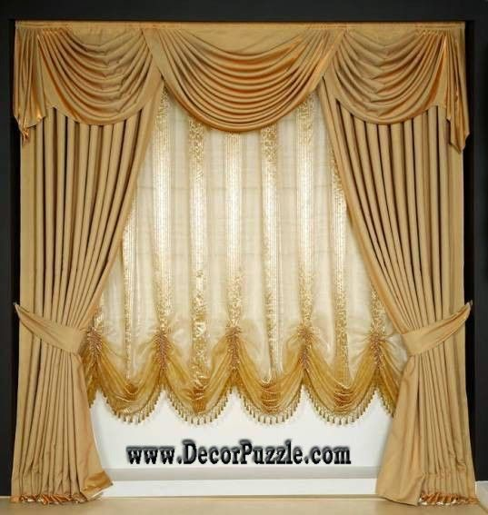 Luxury Classic Curtain Style 2017 Royal Curtain Designs And Drapes