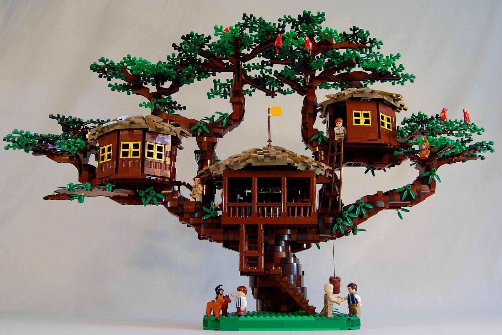 Swiss Family Robinson Treehouse Lego Tree House Lego Tree Swiss Family Robinson Treehouse