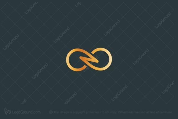 Infinity N Symbol Logo Logo Design Infinity Graphic Poster Symbol Logo